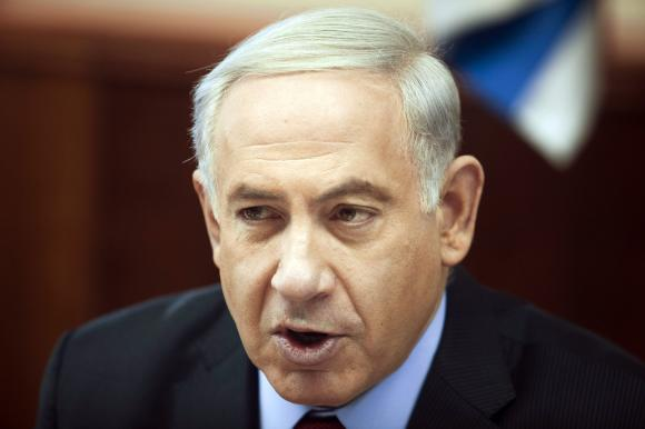 Israel's Prime Minister Netanyahu attends meeting in Jerusalem