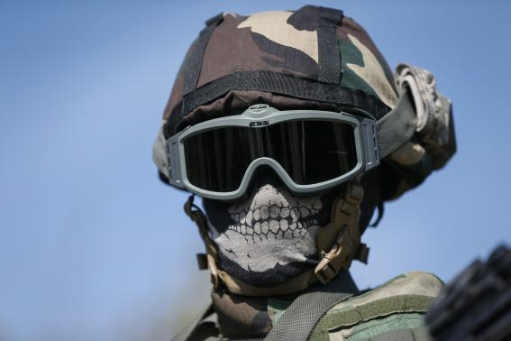 A member of the military special forces
