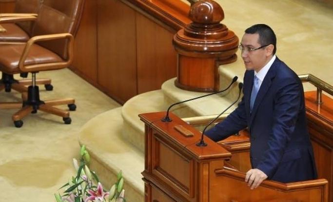 CARE - despre Ponta...STIMATE ALEGATOR RrUMÂN, DRAGĂ NAȘ FLOREO Ponta_Parlament