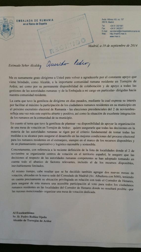 Spania Ambasador