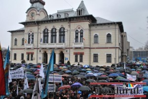 protest Complexul Energetic Oltenia