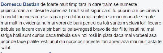 comentariu facebook