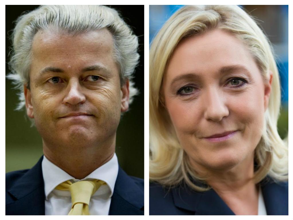 """""""Geert Wilders marine le pen"""""""