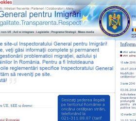 """""""inspectoratul general pentru imigrari"""""""
